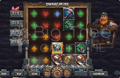 Dwarfmine Extra rol