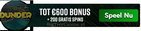 Spelen bij Dunder Casino